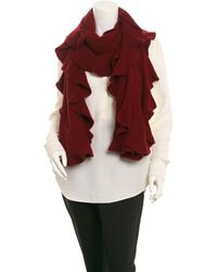 Magaschoni - Cashmere Ruffle Wrap - Lyst