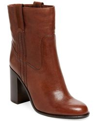 Kate Spade - Baise Leather Bootie - Lyst