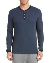 Bread & Boxers - Thermal Henley - Lyst