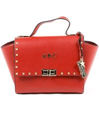 Andrew Charles by Andy Hilfiger - Andrew Charles Womens Handbag Red Jaime - Lyst