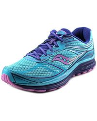 Saucony - Guide 9 Women Round Toe Synthetic Blue Running Shoe - Lyst