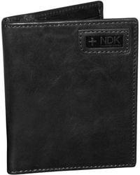 Nidecker - Leather Coosmopolitan Bi-fold Wallet - Lyst
