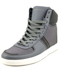 Sean John - Nes Round Toe Synthetic Trainers - Lyst