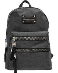 Adrienne Vittadini - Backpack With Oversized Zipper - Lyst