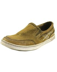 Bed Stu - Bluegill Round Toe Canvas Trainers - Lyst