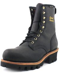 """Chippewa - 8"""" Insulated Waterproof Logger W Steel Toe Leather Work Boot - Lyst"""