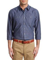 Cutter & Buck - Oxford Blakely Woven Shirt - Lyst