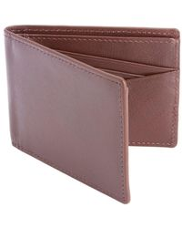 Royce - Leather Bifold Leather Wallet - Lyst