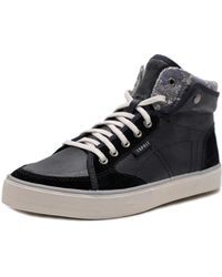 Esprit - 014ek1w017 Women Synthetic Black Fashion Trainers - Lyst