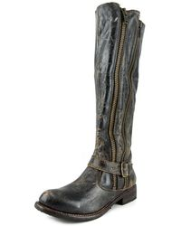 Bed Stu - Tango Women Round Toe Leather Knee High Boot - Lyst