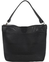 7Chi - Perforated Tote - Lyst