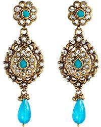 Rosena Sammi - Jewelry Beaded Zingara Earrings - Lyst