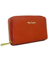 Pierre Cardin - Paglia 503 Ar Leather Compact Zip Wallet - Lyst