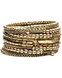Rosena Sammi - Jewelry Beaded Viper Bangle - Lyst