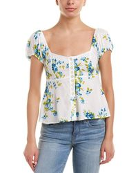 Free People - Close To You Blouse - Lyst