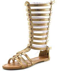 Penny Loves Kenny - Tristen Women Open Toe Synthetic Gladiator Sandal - Lyst