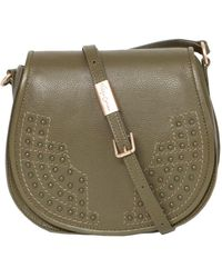Foley + Corinna - Foley & Corinna Leather Stevie Saddle Bag - Lyst