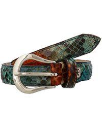 Renato Balestra - Mussurana Python Leather Womens Belt - Lyst