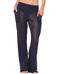 Anne Cole - Mesh Pant - Lyst