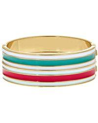 Fornash - Plated Enamel Hinge Bracelet - Lyst