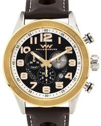 Weil & Harburg - Karkin Men's Swiss Racing Chronograph Watch - Lyst