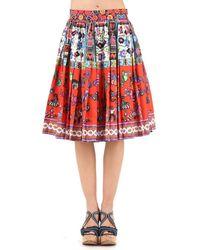 Stella Jean | Liquidatore Pleated A-line Skirt | Lyst