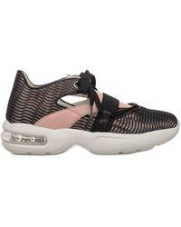 Alberto Guardiani - Women's Pink Polyamide Sneakers - Lyst