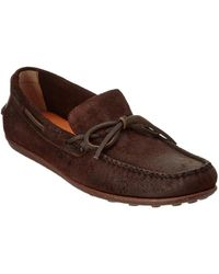 Frye - Men's Harris Tie Leather Loafer - Lyst
