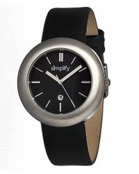 Simplify - The 900 Leather-band Watch - Lyst