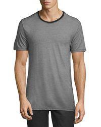 ATM - Short Sleeve Crew T-shirt - Lyst