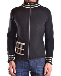 Antonio Marras   Men's Mcbi023002o Black Cotton Cardigan   Lyst