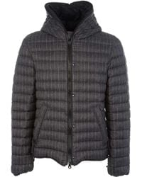 Duvetica - Men's Grey Polyamide Down Jacket - Lyst