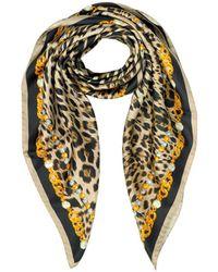 Roberto Cavalli - Women's Multicolor Silk Foulard - Lyst