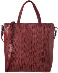 Sorial - Mini Leather Tote - Lyst