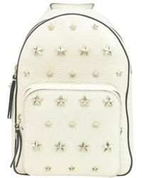 RED Valentino - Women's White Leather Backpack - Lyst