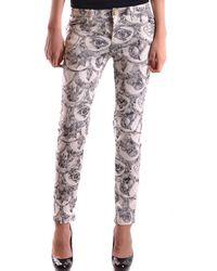 Frankie Morello - Women's Mcbi125048o Multicolor Polyester Jeans - Lyst