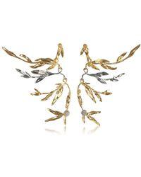 Aurelie Bidermann - Women's Gold Metal Earrings - Lyst