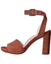 Kenneth Cole - Women's Leather Toren Stacked Heel - Lyst
