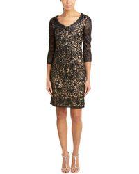Sue Wong - Sheath Dress - Lyst