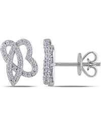 Julianna B - 1/5 Ct Diamond Tw Ear Pin Earrings - Lyst