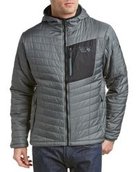 Mountain Hardwear - Thermostatic Hooded Jacket - Lyst