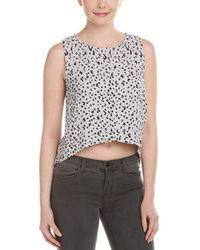 Michael Stars - Crossed Hem Top - Lyst