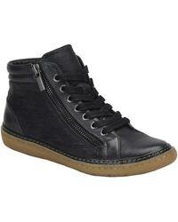 Söfft - Annaleigh Leather High-top Sneaker - Lyst