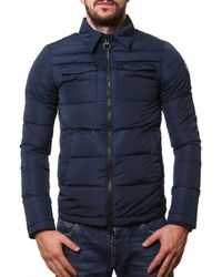 Rossignol - Men's Blue Polyamide Down Jacket - Lyst