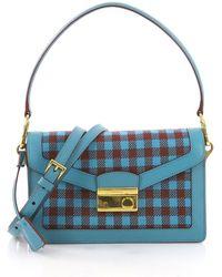 Prada - Pre Owned Sound Bag Tweed Small - Lyst