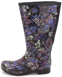 Chooka - Womens Flex Fit Elastic Rubber Closed Toe Knee High Cold Weather Boots - Lyst