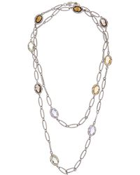 Tacori - Colour 18k & Silver 15.59 Ct. Tw. Gemstone 38in Necklace - Lyst