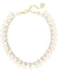 Zenzii - Gumdrop Crystal Collar Necklace - Lyst