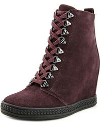 Fergie - Jillian Suede Fashion Sneakers - Lyst