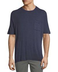 ATM - Sun Bleached Crew T-shirt - Lyst